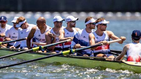 Tim dayung Britania Raya di Olimpiade Tokyo 2020. - INDOSPORT