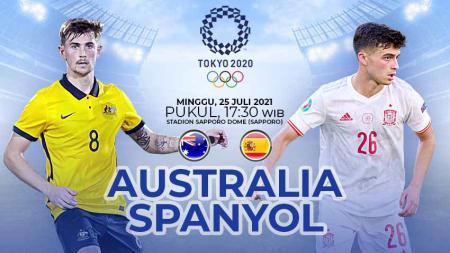 Pertandingan antara Australia vs Spanyol (Olimpiade Tokyo). - INDOSPORT