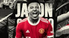 Indosport - Jadon Sancho jadi pemain baru Manchester United