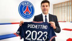Indosport - PSG Perpanjang Kontrak Mauricio Pochettino Hingga 2023