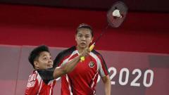 Indosport - Greysia Polii/Apriyani Rahayu vs Chow Mei Kuan/Lee Men Yean