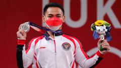 Indosport - Lifter Indonesia, Eko Yuli Irawan di Olimpiade Tokyo 2020.