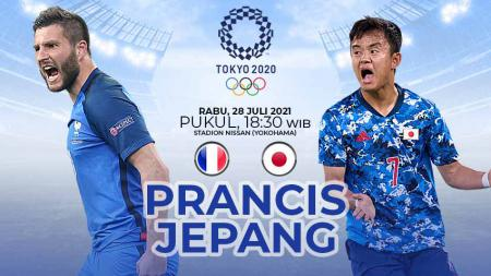 Link Live Streaming Sepak Bola Putra Olimpiade Tokyo 2020: Prancis vs Jepang. - INDOSPORT
