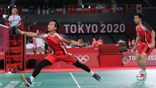 Link Live Streaming Bulutangkis Olimpiade 2020: Ujian Ahsan/Hendra