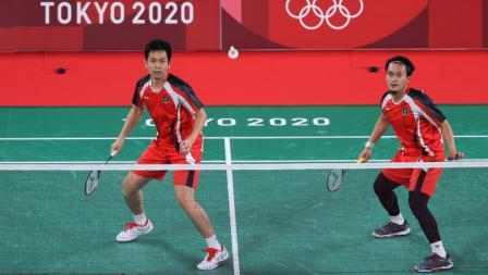 Hendra/Ahsan mengakui pasangan Malaysia Aaron Chia/Wooi Yik Soh cukup merepotkan dalam laga sore tadi.