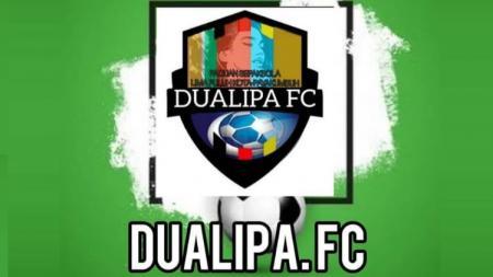 Logo klub Liga 3, Dualipa FC. - INDOSPORT