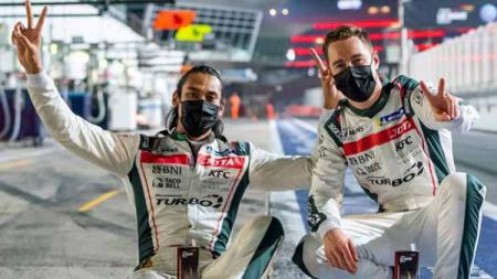 Berikut hasil pembalap Indonesia akhir pekan lalu. Sean Gelael podium di Le Mans 24 Hours. Mario Aji, Dimas Ekky, Galang Hendra raih poin di FIM CEV dan WSSP. - INDOSPORT
