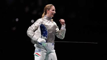 Medali Emas Melayang, Atlet Anggar Argentina Malah Dapat Jodoh di Olimpiade 2020