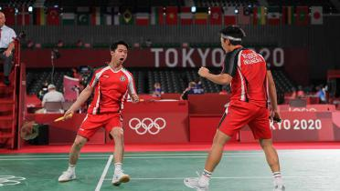 (GALERI FOTO) 3 Pasangan Indonesia Lolos ke Perempat Final dengan Status Juara Grup