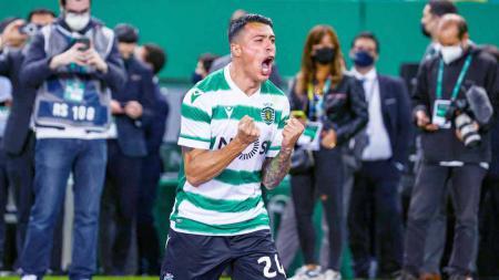 Pedro Porro, pemain Sporting CP. - INDOSPORT
