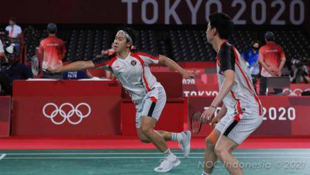 Keduanya kalah dari wakil Malaysia, Aaron Chia/Wooi Yik Soh, di babak perempat final dengan skor 14-21 dan 17-21, Kamis (29/07/21).