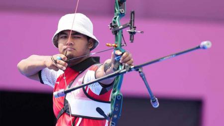 Atlet panahan Indonesia, Bagas Prastiyadi. - INDOSPORT