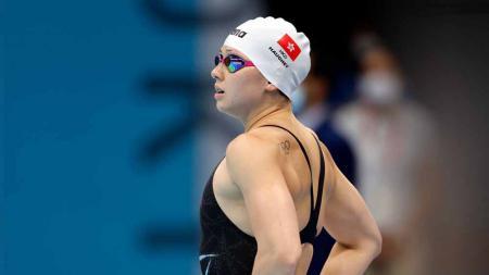 Siobhan Bernadette Haughey, perenang Hong Kong di Olimpiade Tokyo 2020. - INDOSPORT