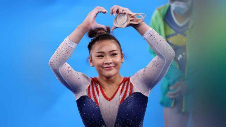Sunisa Lee, atlet gimnastik AS. - INDOSPORT