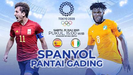 Prediksi Perempat Final Sepak Bola Putra Olimpiade Tokyo 2020 antara Spanyol vs Pantai Gading: Siapa Layak ke Semifinal? - INDOSPORT