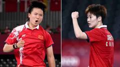 Indosport - He Bing Jiao dan Chen Yufei.