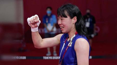 Sena Irie, petinju wanita asal Jepang di olimpiade - INDOSPORT
