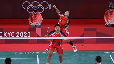 Menteri Pemuda dan Olahraga (Menpora) Zainudin Amali menitipkan pesan kepada ganda putri Indonesia, Greysia Polii/Apriyani Rahayu jelang final Olimpiade Tokyo 2020. - INDOSPORT