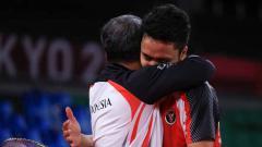 Indosport - Pebulutangkis tunggal putra Indonesia, Anthony Sinisuka Ginting harus mengubur mimpinya membawa pulang medali emas Olimpiade Tokyo 2020.