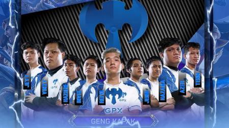 Tim eSports, Geng Kapak. - INDOSPORT