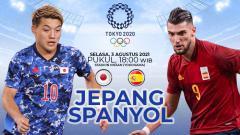 Indosport - Berikut link live streaming pertandingan semi final sepak bola Olimpiade 2020 antara Jepang vs Spanyol.
