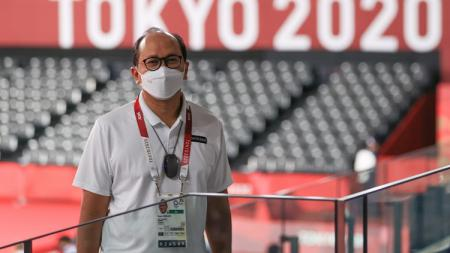 Chef de Mission (CdM) Kontingen Indonesia untuk Olimpiade Tokyo 2020, Rosan P. Roeslani. - INDOSPORT