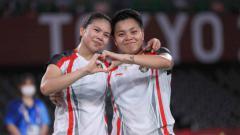 Indosport - Greysia Polii/Apriyani Rahayu, peraih mendali emas di Olimpiade Tokyo 2020.