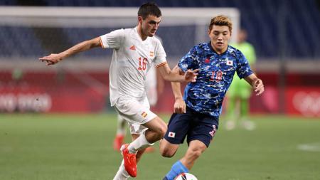 Situasi laga Jepang vs Spanyol di semifinal Olimpiade Tokyo 2020. - INDOSPORT