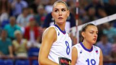 Indosport - Bintang voli asal Rusia, Nataliya Goncharova.