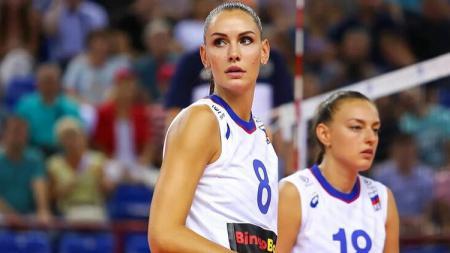 Bintang voli asal Rusia, Nataliya Goncharova. - INDOSPORT