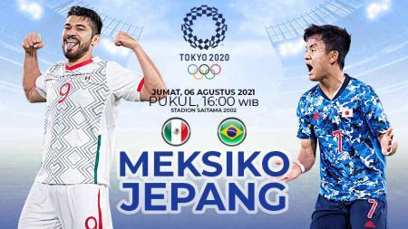 Berikut prediksi pertandingan perebutan medali perunggu Olimpiade 2020 antara Meksiko vs Jepang, Jumat (06/08/21) pukul 18.00 WIB di Saitama Stadium 2002. - INDOSPORT
