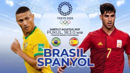 Brasil vs Spanyol. - INDOSPORT
