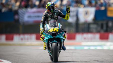 Pembalap Petronas Yamaha SRT, Valentino Rossi - INDOSPORT