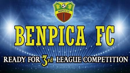 Logo klub Liga 3, Benpica FC. - INDOSPORT