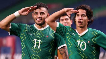 Hasil Pertandingan Olimpiade 2020 Meksiko vs Jepang: Pesta Gol, El Tri Raih Medali Perunggu. - INDOSPORT