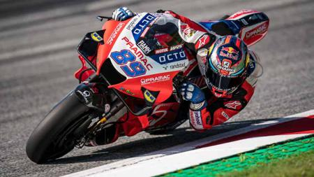 Pembalap Pramac Ducati, Jorge Martin. - INDOSPORT