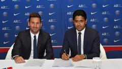 Indosport - Lionel Messi resmi bergabung dengan Paris Saint-Germain