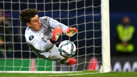 Berikut hasil pertandingan Piala Super Eropa antara Chelsea vs Villarreal, Kamis (12/08/21). Chelsea menang adu penalti berkat aksi gemilang Kepa Arrizabalaga. - INDOSPORT