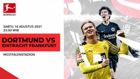 Berikut link live streaming pertandingan pembuka Bundesliga Jerman pekan ke-1 antara Borussia Dortmund vs Eintracht Frankfurt. - INDOSPORT