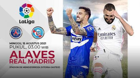 Pertandingan antara Deportivo Alaves vs Real Madrid (LaLiga). - INDOSPORT