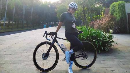 Atris Indonesia, Virnie Ismail, kecelakaan sepeda. - INDOSPORT