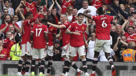 Manchester United harus mau bermain dengan determinasi tinggi hingga akhir saat meladeni Liverpool agar tidak semakin tercecer dari persaingan di Liga Inggris. - INDOSPORT