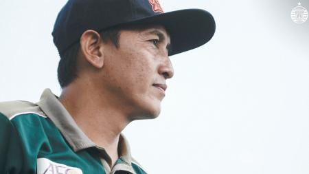 Pelatih Persija Jakarta U-20, Washyiatul Akmal. - INDOSPORT