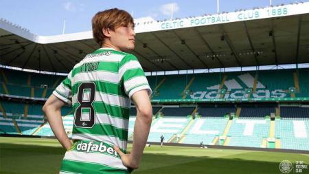 Kyogo Furuhashi, pemain Glasgow Celtic asal Jepang. - INDOSPORT