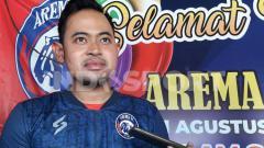 Indosport - Presiden Arema FC, Gilang Widya Pramana.