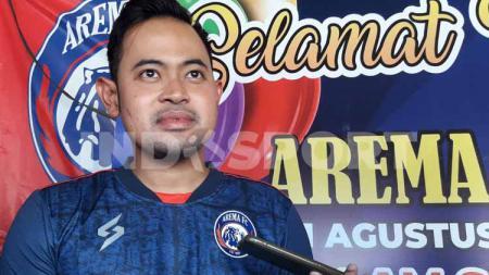 Presiden Arema FC, Gilang Widya Pramana. - INDOSPORT