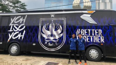 Tim Liga 1, PSIS Semarang, resmi menerima bus baru dari manajemen Charlie Hospital pada Senin (16/08/21). - INDOSPORT