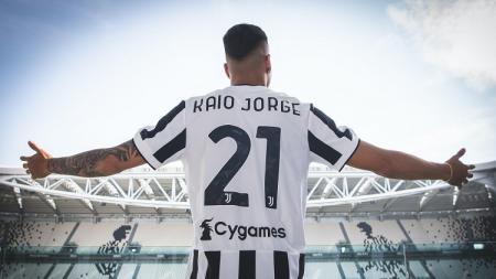 Kaio Jorge, pemain baru Juventus. - INDOSPORT