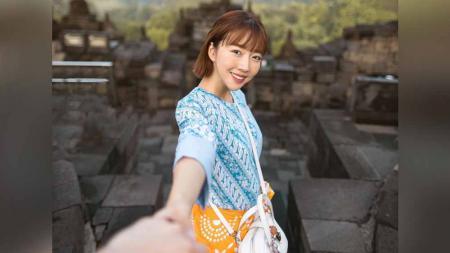 Sunny Dahye, YouTuber Korea yang pernah tinggal di Indonesia. - INDOSPORT