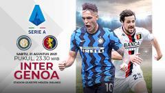 Indosport - Pertandingan antara Inter Milan vs Genoa (Serie A Italia).